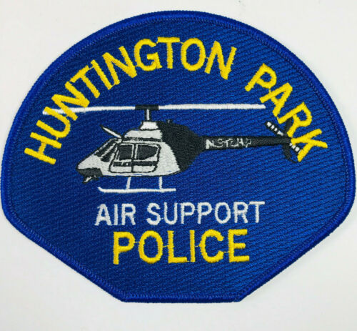 Huntington Park Police Air Support Helicopter California Patch