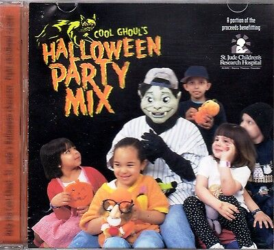 COOL GHOUL'S HALLOWEEN PARTY MIX CLASSIC KIDS SONGS, SOUND EFFECTS & SCARY STORY](Halloween Music Kids Mix)