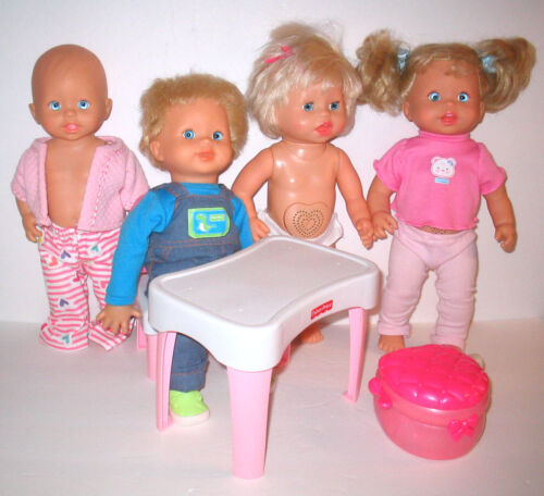 Fisher Price Little Mommy Dolls Potty & Furniture