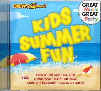 Drews Famous Kids Summer Fun  Pool Luau Island Birthday Party Music  Limbo  Oop
