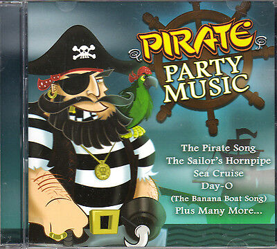 Drews Famous Pirate Party Music  Kids Summer Birthday Pool Party Fun Music  Oop