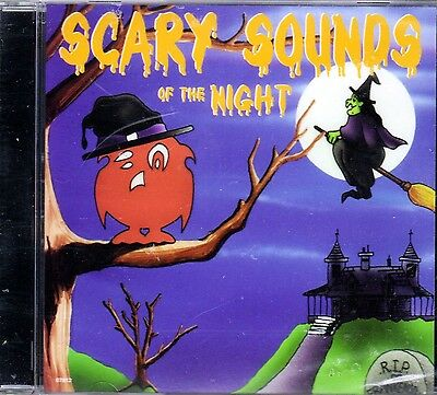 THE ORIGINAL SCARY SOUNDS OF THE NIGHT CONTINUOUS EERIE HALLOWEEN SOUNDS & MUSIC (Halloween Sounds Of The Night)