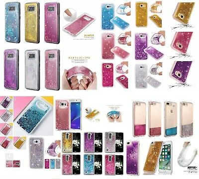 LOT 5 WHOLESALE GLITTER LIQUID BLING STARS TPU LUXURY CASE FOR SAMSUNG IPHONE LG