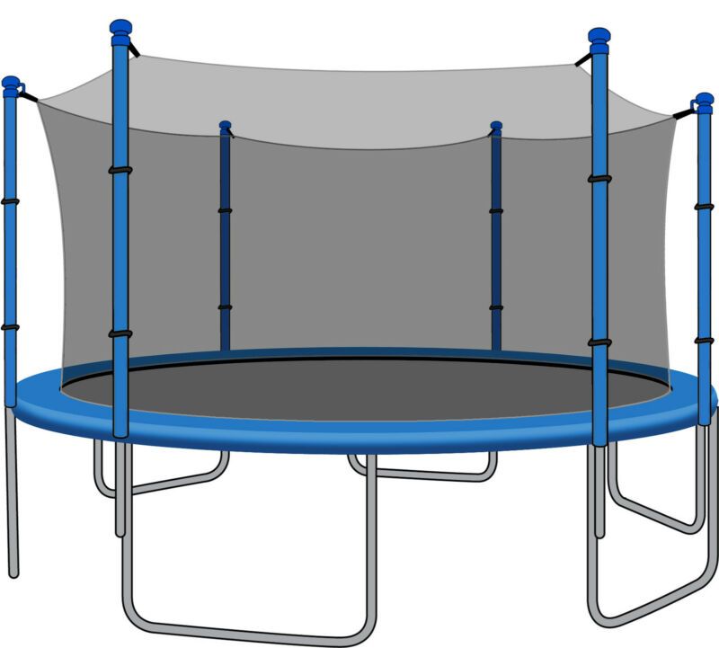 SkyBound 14ft Trampoline Net for JumpZone Trampolines (NET ONLY)