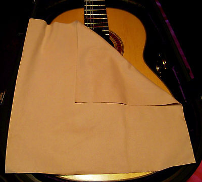 Bass Guitar MicroFiber Suede Cleaning & Polishing Cloth - World's