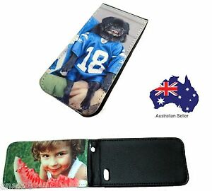 iPhone-5-custom-PHOTO-Printed-LEATHER-Flip-Cover-PERSONALISED-Black-CASE