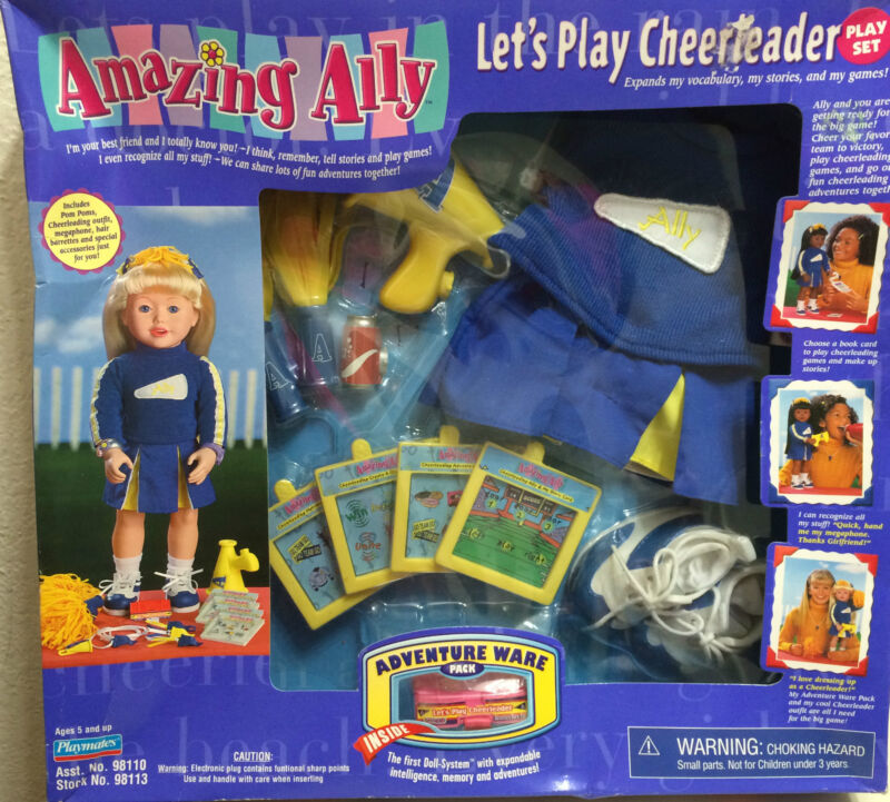 """AMAZING ALLEY INTERACTIVE PLAY SET-""""LET"""