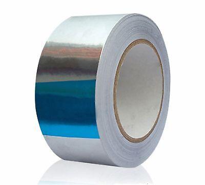 82ft X1.88 Aluminum Foil Heat Shield Tape Reflector Sealing Adhesive 25m48mm