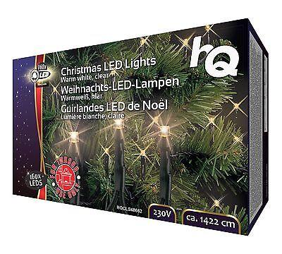 Guirnalda Luminosa LED Blanco Flexible Iluminación Fiesta Noel 160 Bombillas A