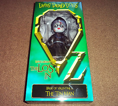 LIVING DEAD DOLLS LOST IN OZ WIZARD OF OZ THE TIN MAN - Mezco Toyz In Hand!