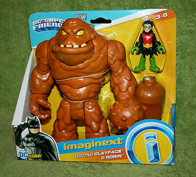 Fisher Price Imaginext DC Super Friends Oozing Clayface & Damian Wayne Robin Set
