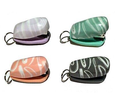 Swingline Tot Fashion Swirl Mini 12 Sheet Stapler With Keychain Hanging Ring
