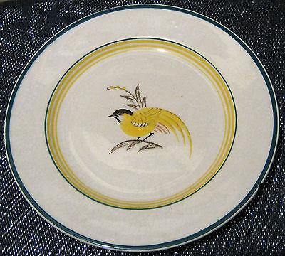 Denmark Pottery Aluminia plate 8 7/8 inches diameter.  Lovely vintage design
