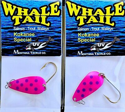 New Old Stock Kokanee trolling wobblers or use as Salmon trolling spoons
