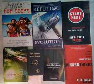 17 Nonfiction Christian books selected for teens  /young adults Deception Bay Caboolture Area Preview