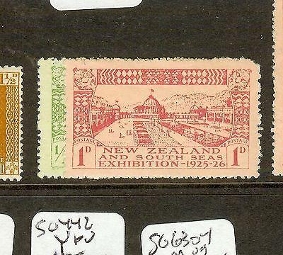 NEW ZEALAND (P0308B) EXHIBITION SG463-4  MOG