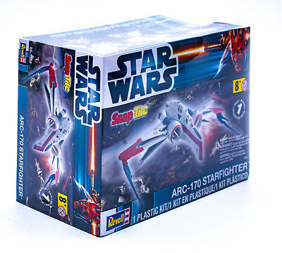 Revell 85-1855 Star Wars ARC170 Starfighter Vaisseau Modèle Kit Neuf/Emballage