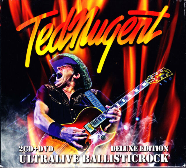TED NUGRNT ultralive ballsticrock  2CD + DVD NEU OVP/Sealed