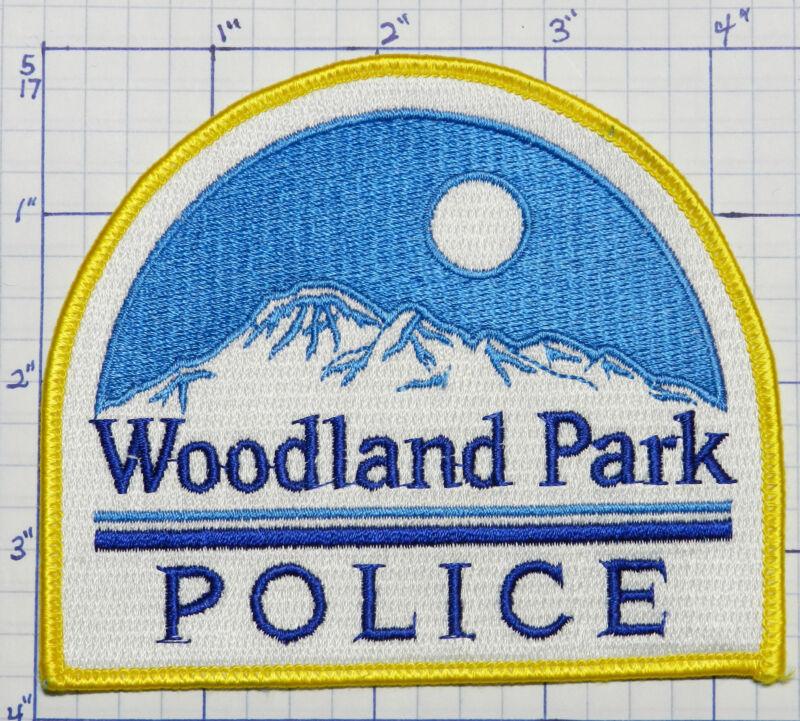 COLORADO, WOODLAND PARK POLICE DEPT MOUNTAIN PATCH