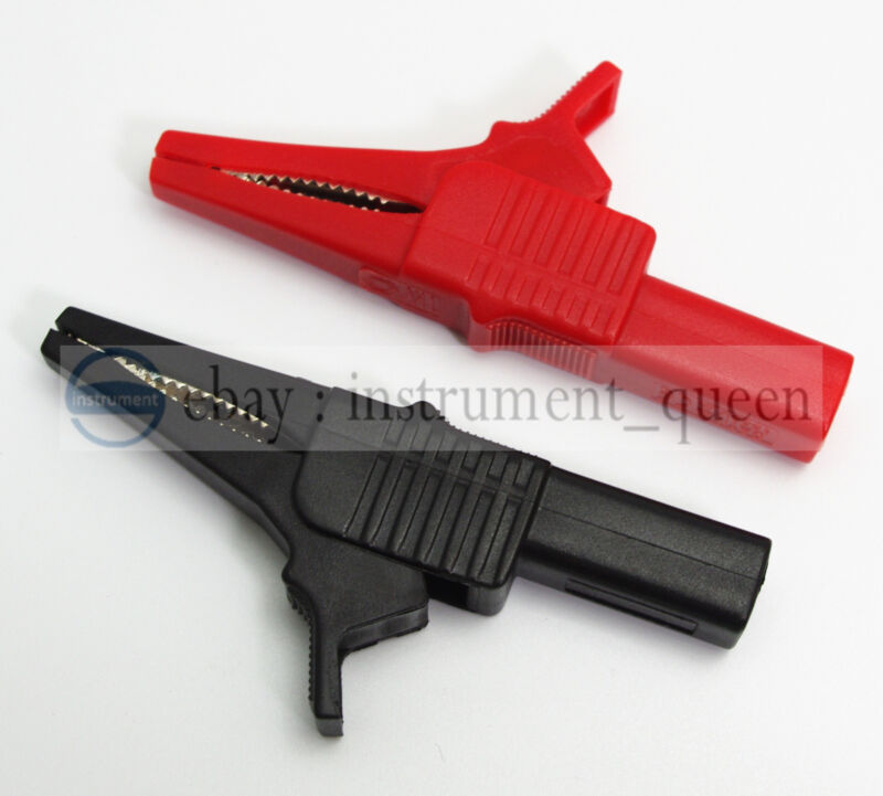 Alligator clip Multimeter pen HV test clips probes use for Fluke TL224 TL221