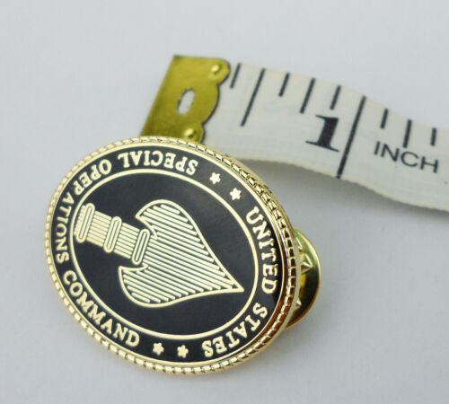 MILITARY MINI US SPECIAL OPERATIONS COMMAND BADGE PIN USSOCOM INSIGNIA-212