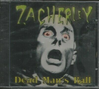 Halloween Band New Album (ZACHERLEY - DEAD MAN'S BALL (BAND IS EVIL CLEAVERS) - CD - BRAND)