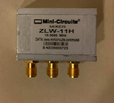 Mini-circuits Zlw-11h Mixer 10 To 3000 Mhz