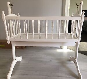 Wooden Bassinet South Morang Whittlesea Area Preview
