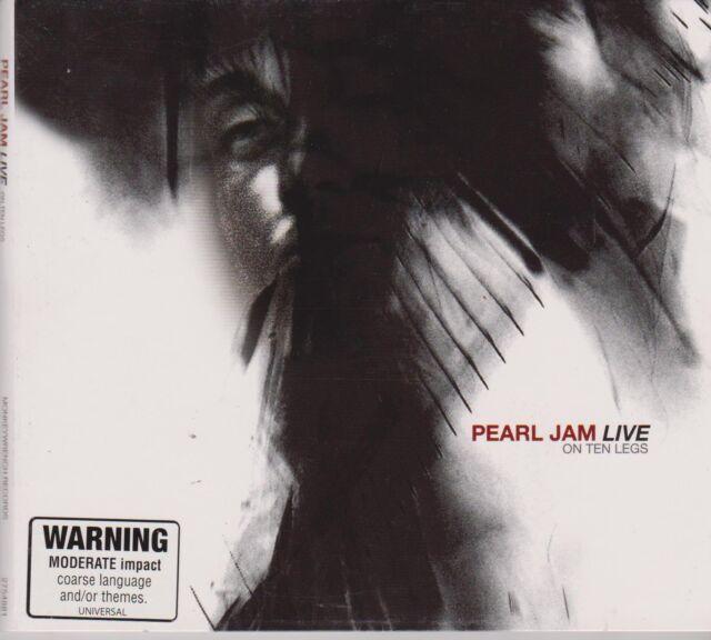 PEARL JAM - LIVE ON TEN LEGS - CD - NEW -