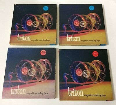 Lot #3 of (4) TRITON Used Vintage Orchestra Recorded Reel to Reel Tapes