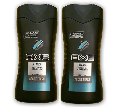 Axe/Alaska Arctic Fresh 2x250ml/Duschgel