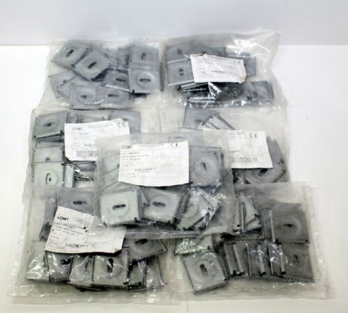 """Lot Of 175 Legrand LCMT 1""""x1"""" CE40DC Hold Down Clamp for 100 & 200 mm Tray Width"""