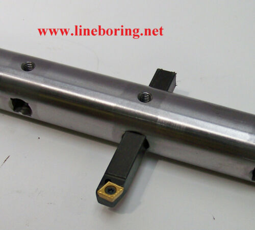 Portable Line Boring Machine 3 Foot Boring Bar for 1/2 inch square tools