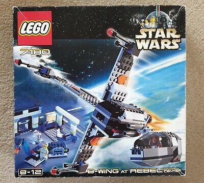 Lego Star Wars 7180 B-Wing at Rebel Control Center BNIB