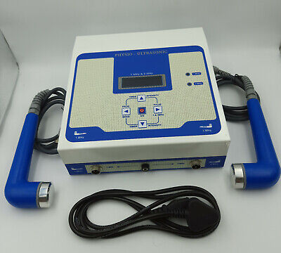 Us Ultrasound Therapy 1mhz 3mhz Pain Relief Ultrasonic Physiotherapy Machine