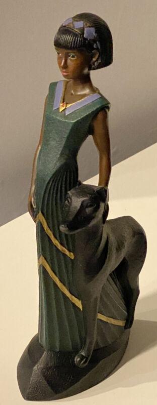 "Parastone Enesco Figurine Mahogany Princess ""Unconditional Love"" 10"" Excellent"