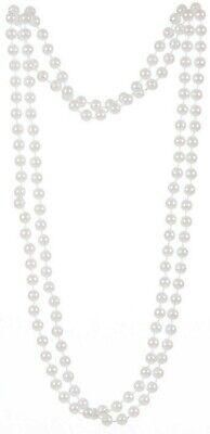 Mujer Collar de Perlas Cuentas Bisutería 1920S Gatsby Charleston Boda