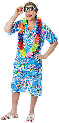 Paradise NEU - Herren Karneval Fasching Verkleidung Kostüm (Herren Hawaii Kostüm)