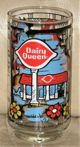 Vintage Dairy Queen DQ 1976 Collector glass