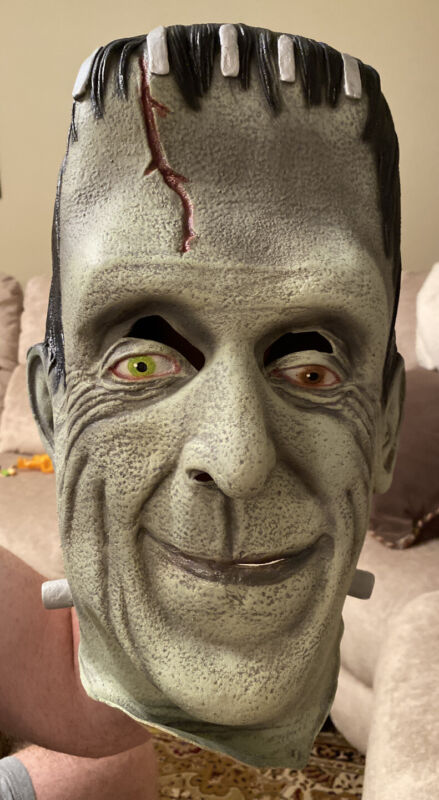 LK NW The Munsters Herman Latex Overhead Mask Halloween Costume
