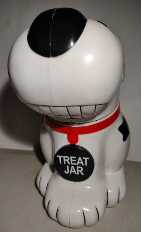 Beagle Dog Talking Cookie Treat Jar Samsonico Snoopy Like Happy Hour 🍪🦴 Video