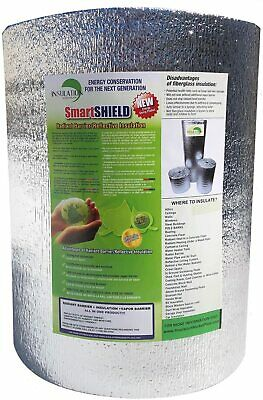 Smartshield -5mm 48x100ft Reflective Insulation Roll Foam Core Radiant Barrier