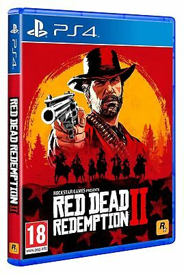 RED DEAD REDEMPTION II PS4 - PLAYSTATION 4 - GIOCO EUROPEO EU - OFFERTA