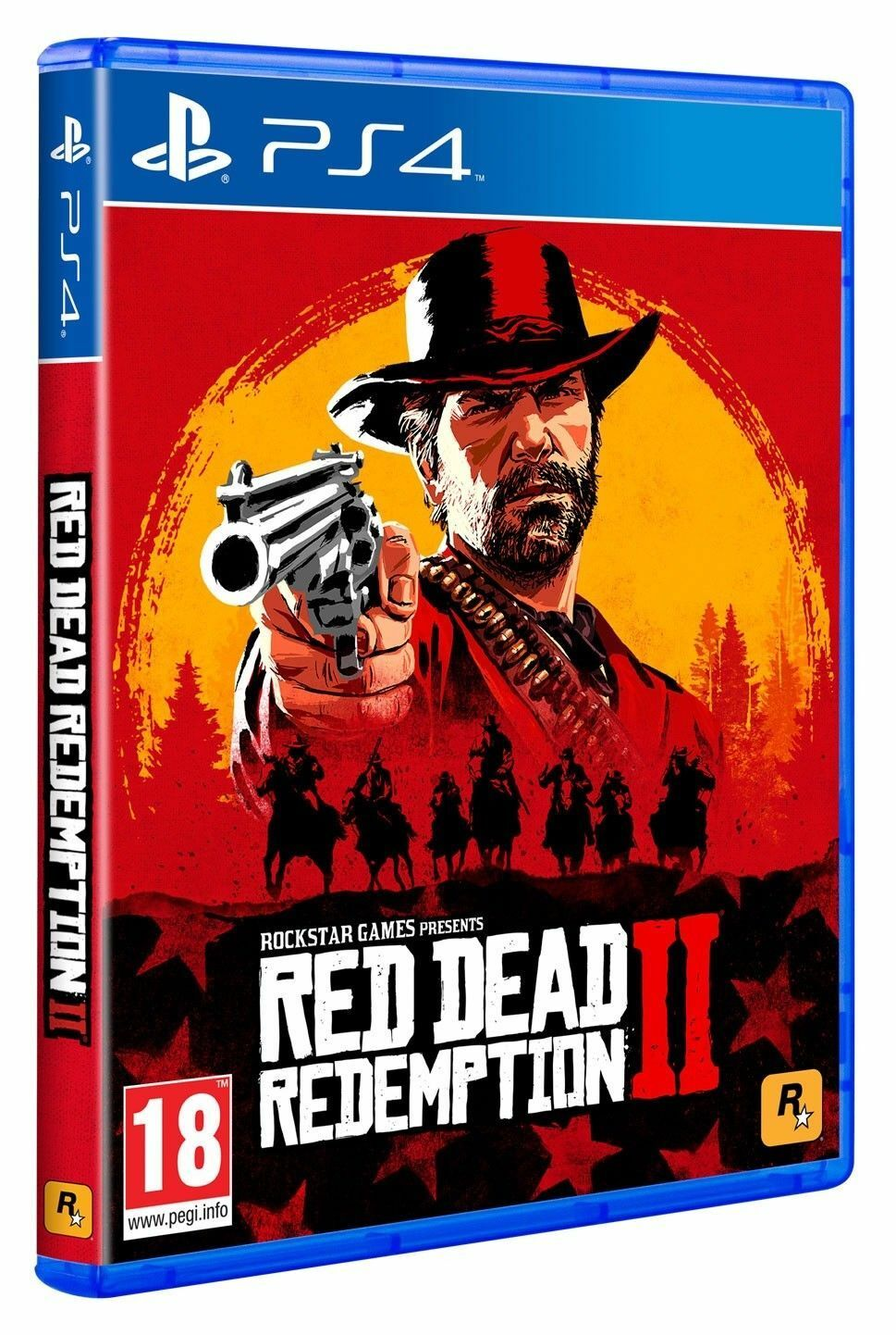RED DEAD REDEMPTION 2 PS4 - PLAYSTATION 4 - GIOCO EUROPEO EU - OFFERTA