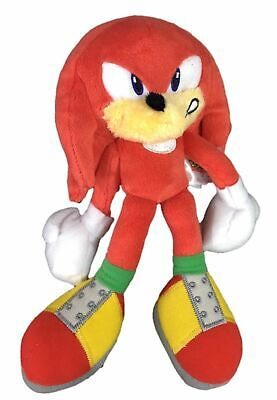 Plush Toy - Sonic the Hedgehog - Modern Knuckles - 8 Inch - Angry - Knuckles Sonic The Hedgehog