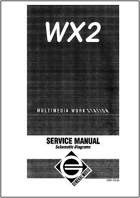 GEM Generalmusic CD10  20 30 Schaltbild Service Manual Schematic Diagrams NEU