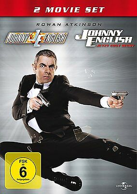 Johnny English 1+2 - 2-DVD-NEU-OVP