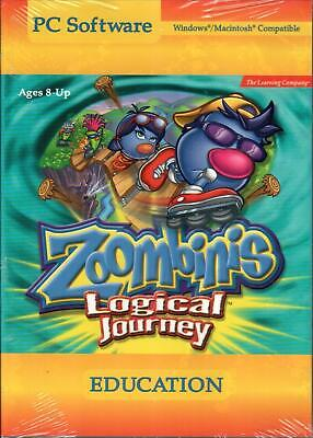 Zoombinis Logial Journey Educational Game (PC Windows/Mac Compatible)