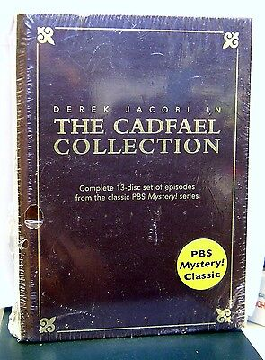 The Cadfael Collection (DVD, 2005, 13-Disc Set) (New-Read)