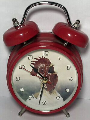 Wacky Wakers - Rooster Alarm Clock - Barnyard Series - Tested and Working Round Dining Room Series